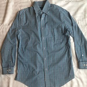 Croft & Barrow Mens Dress Shirt 15.5/32-33 Plaid